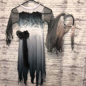 Sz Small Child's Graveyard Bride Halloween Costume